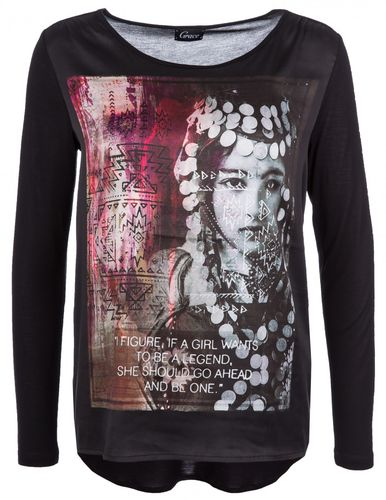 Grace Shirt Longsleeve Print India 408 2301 UVP 149€