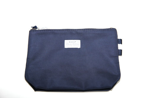 GANT O.solid Nylon Make-up Bag  Kulturbeutel  blau
