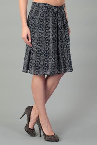 Tom Tailor Damen Rock Chiffon skirt Blau Gr. 34 UVP 49,90