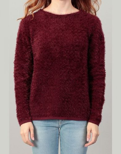 Tom Tailor Damen Pullover zigzag feather sweater