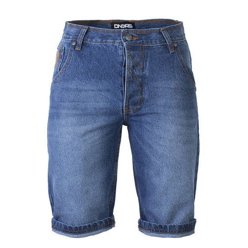 DNGRS Herren Jeans Hose kurz 90TH Mid Blue wash blau Loose Fit