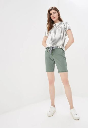 Tom Tailor Damen Short Chino Bermuda olive grün Gr. 42