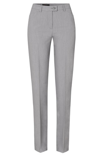 Toni Damen CS-Season Stoff Hose Slim Fit grau