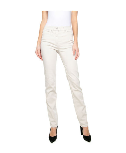 Toni Damen CS-be Loved Hose Slim Fit Normal/regular grau
