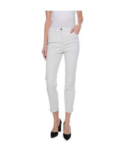 Toni Damen CS-be Loved Hose Slim Fit Kurz/Short grau
